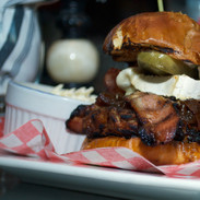 burger au Charbon