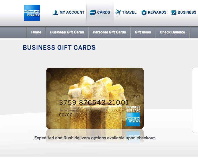 Buy amex business gift cards get to hawaii and back for for How to get gift cards for your business