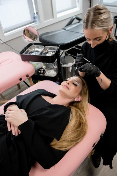 Calgary Microclading Course, Okotoks Alberta, Innovative Beauty Academy Studio