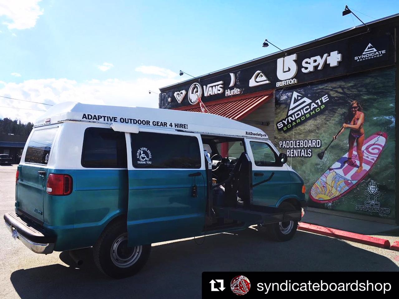 Syndicate Boardshop keeping it RAD!