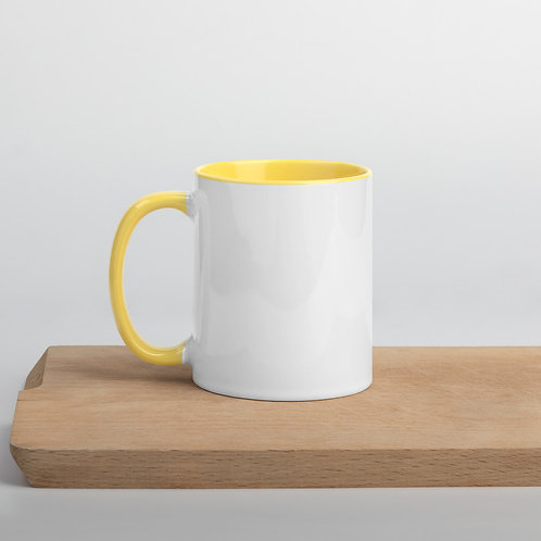 RAD Yellow Mug