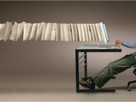 Patient care positively paperless - NHS dropping the load