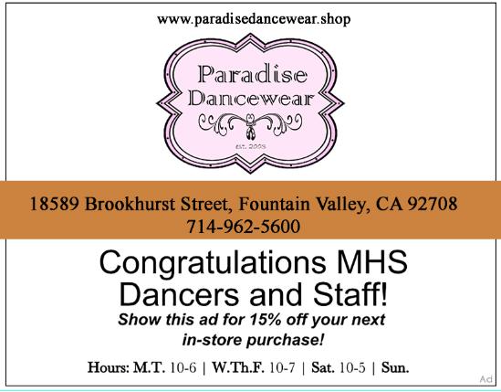Paradise Dance Wear