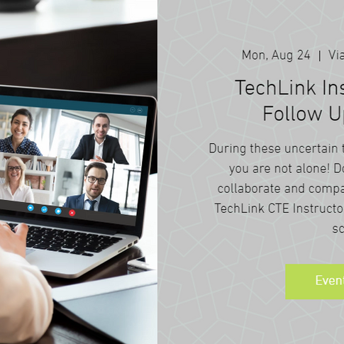 8-24 TechLink Meetings - Additional Resources
