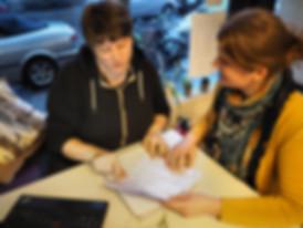 Mel Schmitt Virtuelle Assistenz Kundengespräch
