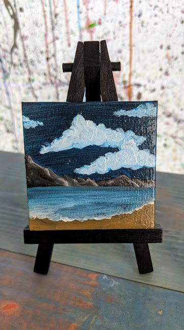 A beach mini - Ash. L.