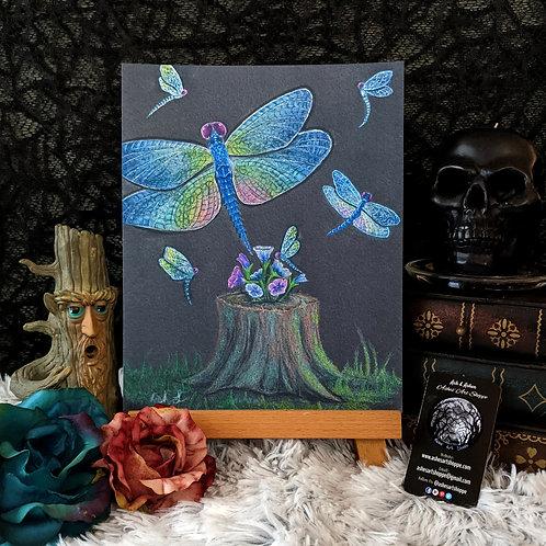 """Dragonfly Dance"" Print"
