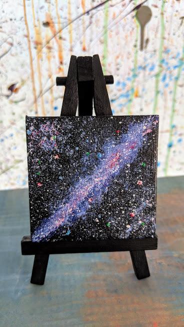 A mini Milky Way - Ash. L.