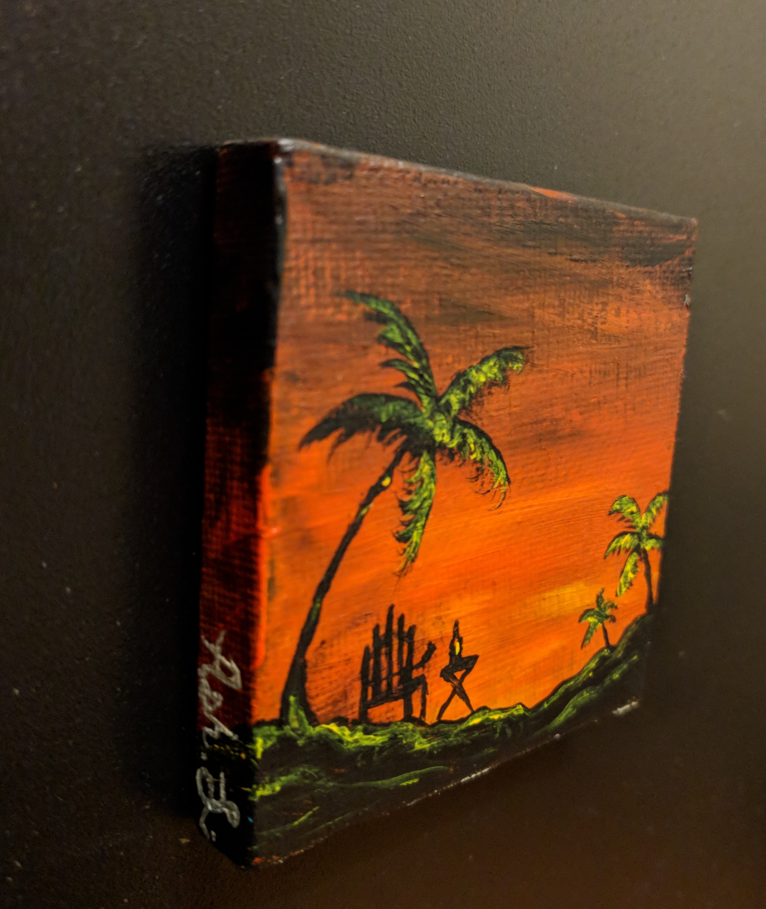 Mini beach painting