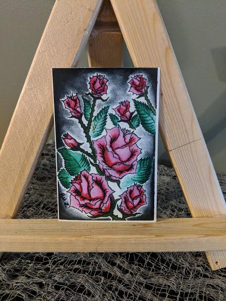 """Roses are Pinkish"" Print"