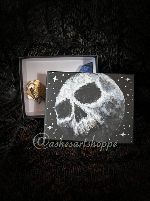 Skull Moon Trinket Box