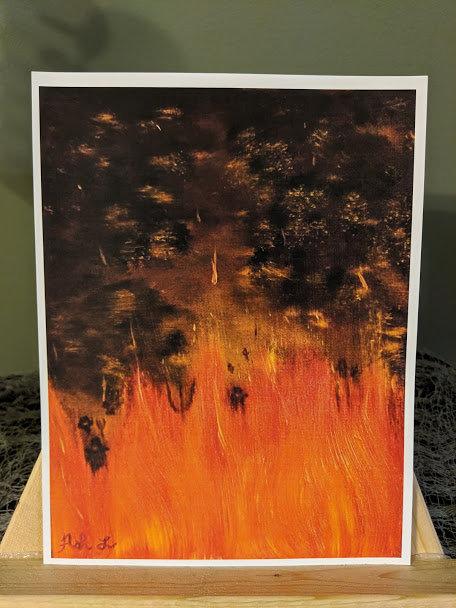 """Crone's Last View"" Print"