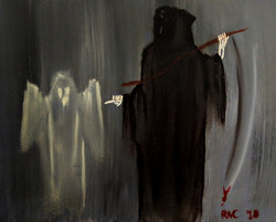 """""""Death and the Ghostly Apparition"""" Asher"""