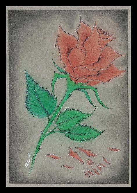 """Aging Beauty"" Print"