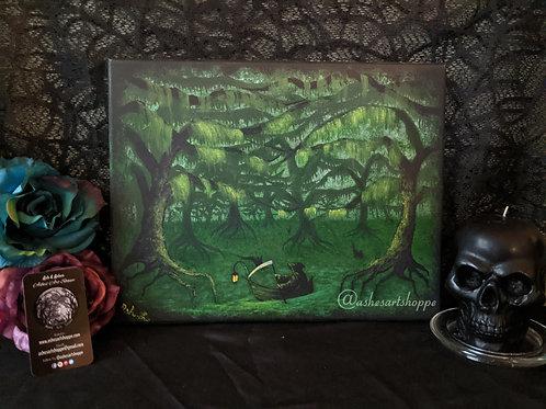 """A Swampy Death"" by Ash. L. - Original"