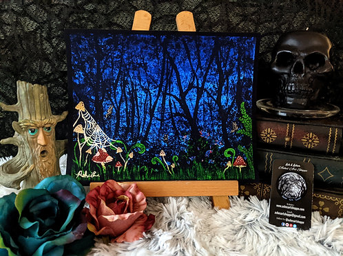 """""""In the Wood"""" Print"""