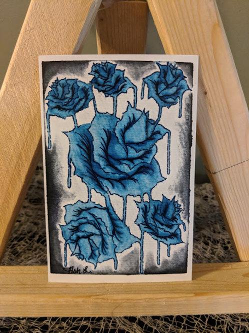 """""""Runs & Roses"""" Print"""