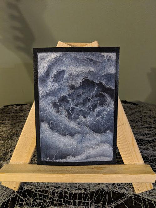 Stormy Sketch Print