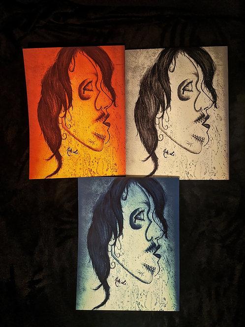"""""""Inner Demon"""" Print"""