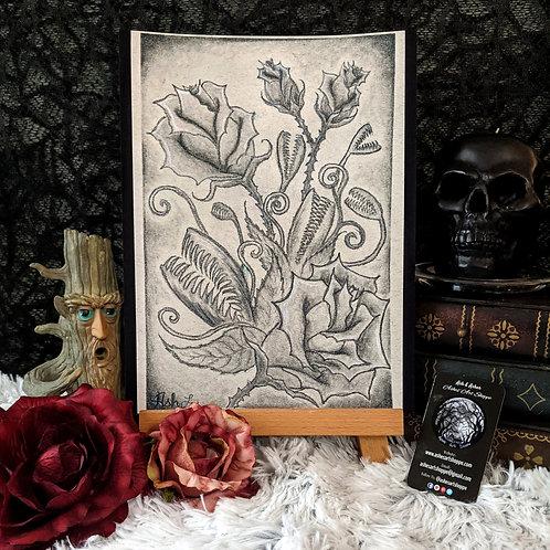 """Beautiful but Dangerous"" Print"