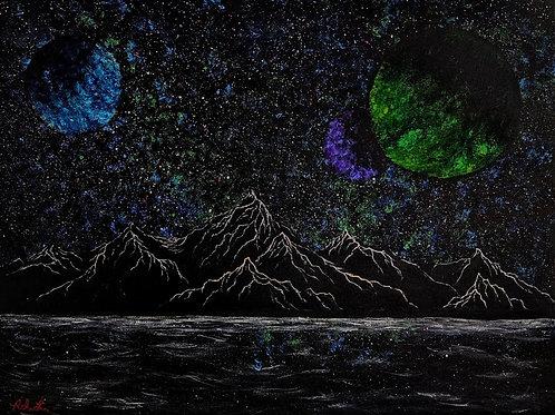 """Into Alignment"" by Ash. L. - Original"