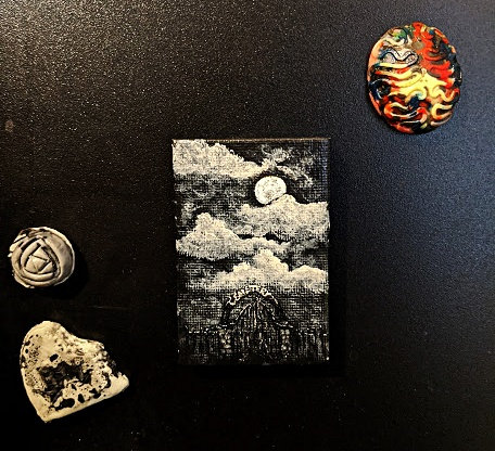 Little Cemetery Gates by Ash. L. (Magnet)