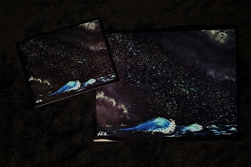 """""""Space Waves"""" Print"""