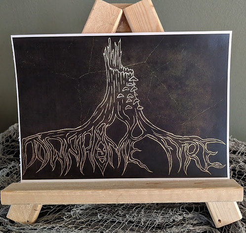 """Downhome Design"" Green Print"
