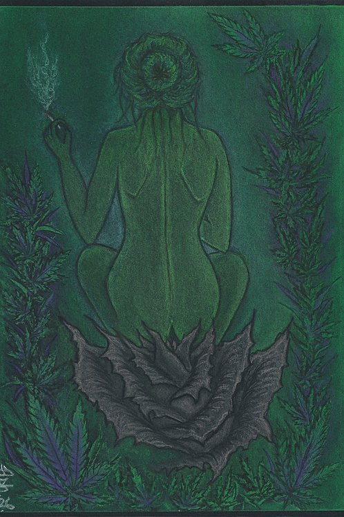 "Print ""The Green Goddess"""