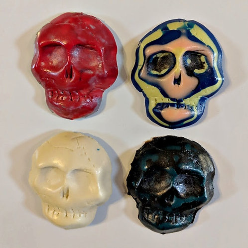 Thick-Headed Skull Magnets