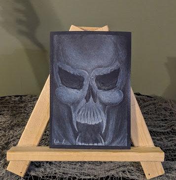 Skull Sketch Print