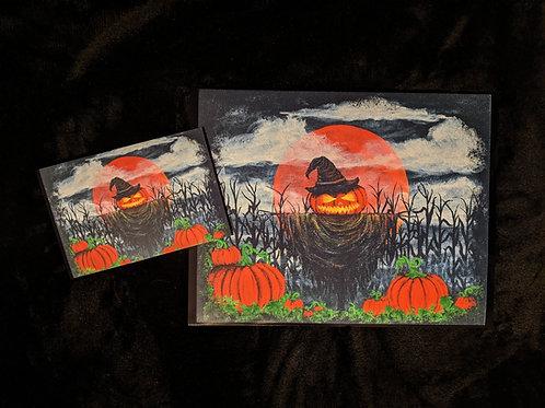 """Scary Jack"" Print"