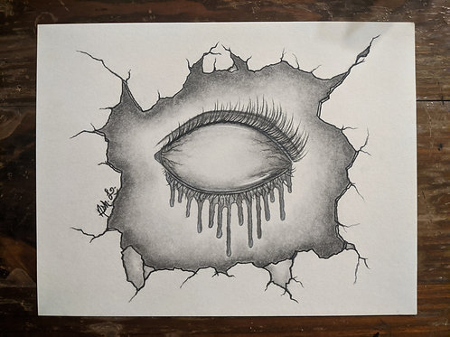 """""""Infected"""" by Ash. L. - Original"""