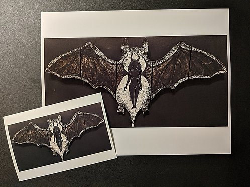 "Print ""Batty Bitch"""