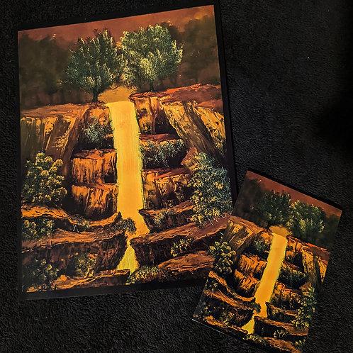 """Autumn Falls"" Print"