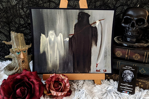 """""""Death and the Ghostly Apparition"""" Print"""