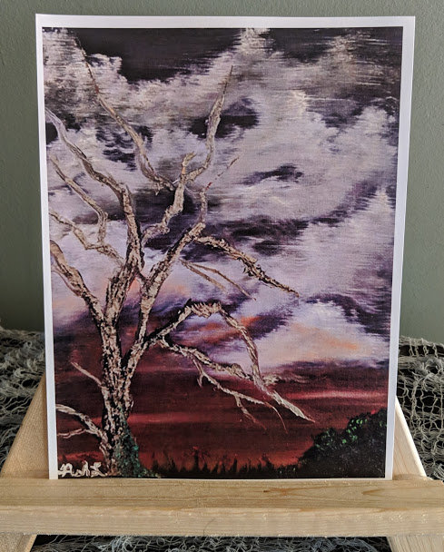 """Autumn Plains"" Print"