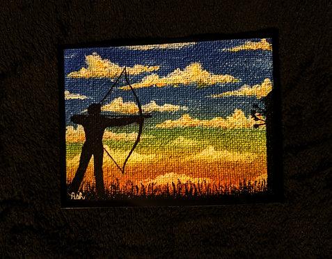 """The Archer"" Print"