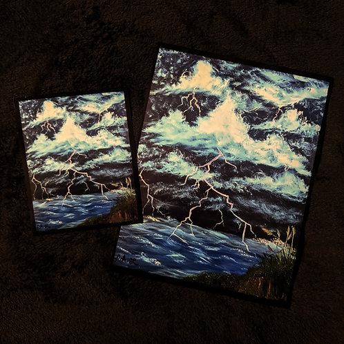 """Stormy Shore"" Print"
