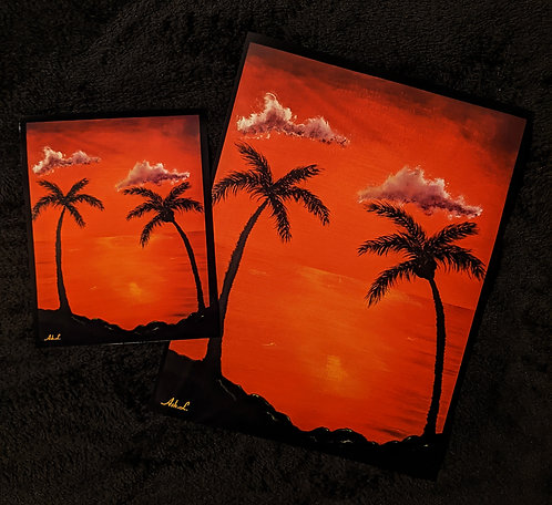 """Paradise"" Print"