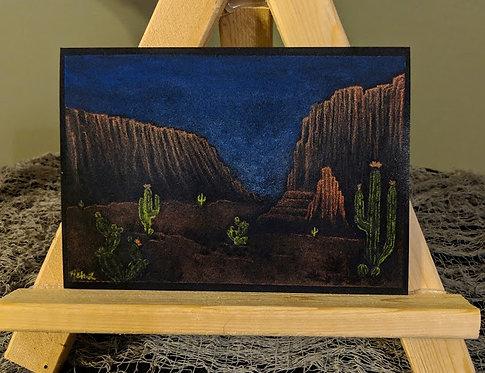 """Desert in the Dark"" Print"