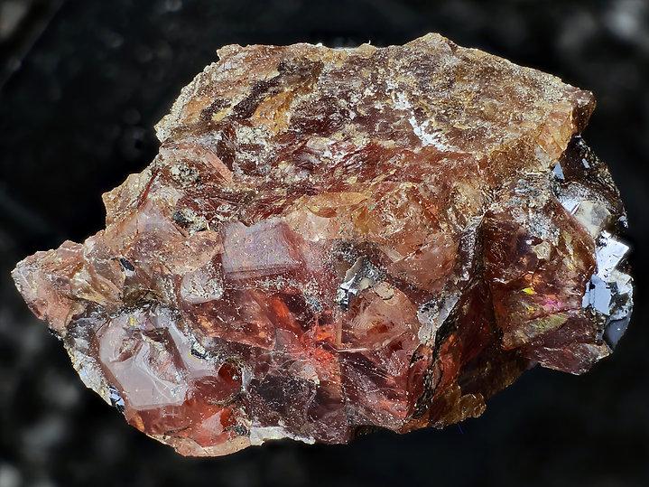 91-Ferrorhodonit-Brooken Hill-BB 13,7 mm