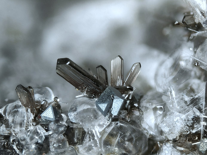 19 Bild 2Hedenbergit, Magnetit Rothenber