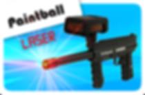 Paintball laser