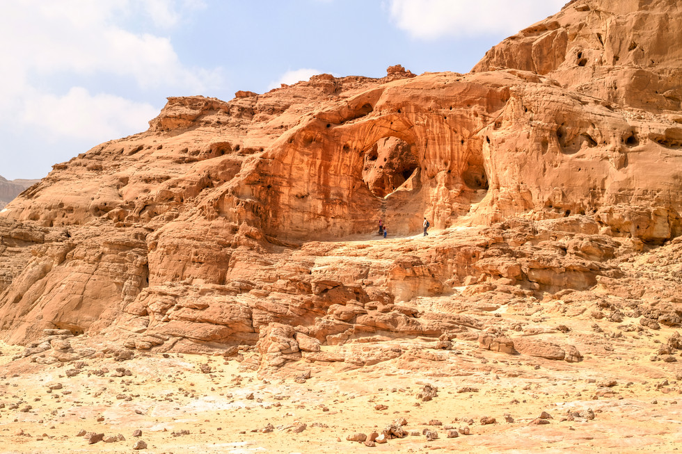 Timna valley, south of Israel