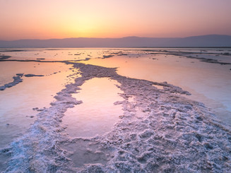 Sunrise, Dead sea