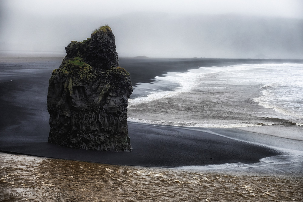 Reynisfjara Beach, Iceland. photo by Liat Huller Harari