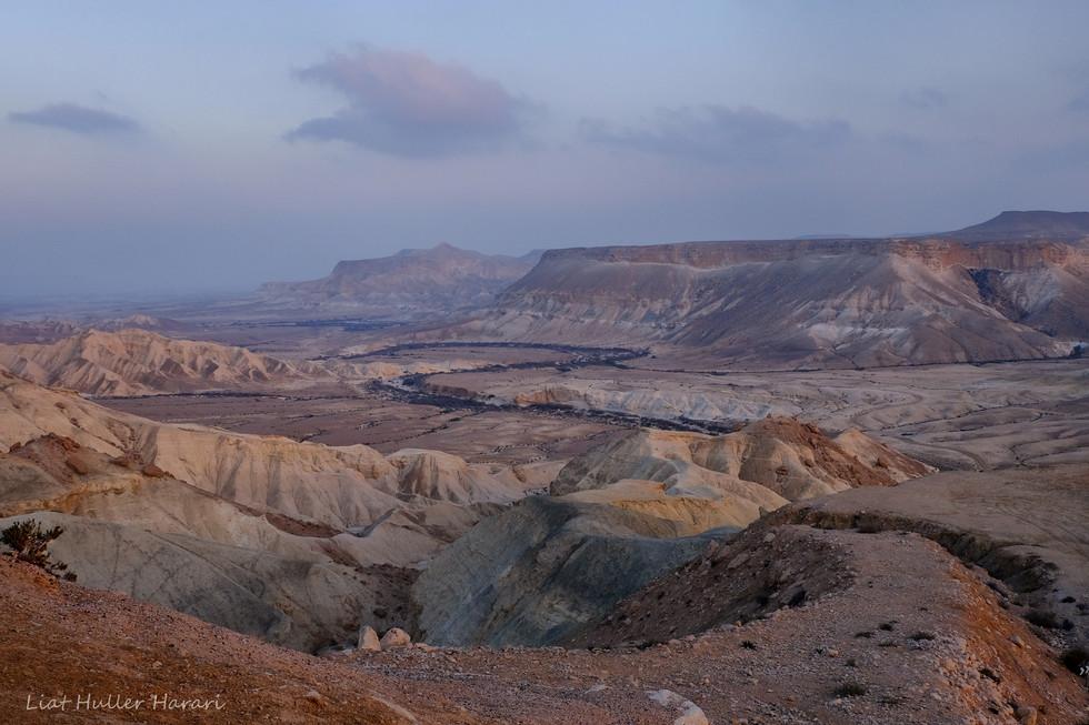 Negev Desert and Zin Valley