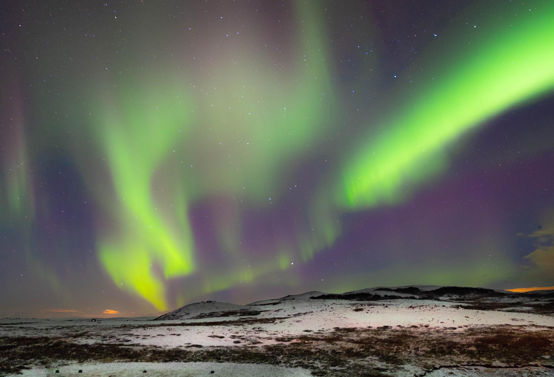 Aurora Borealis-Nothern lights, Iceland