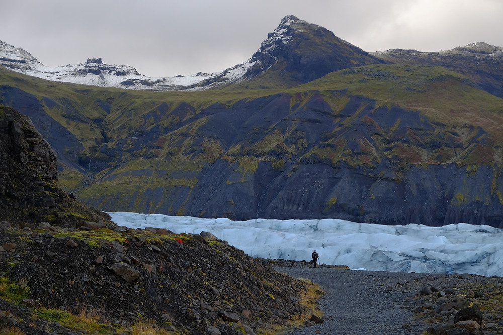 Svinafelljokull iceberg lagoon. Iceland